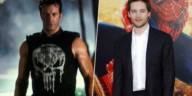 The Punisher était dans Spider-Man 2 avec Tobey Maguire et vous n'avez pas remarqué: un vieux multivers?