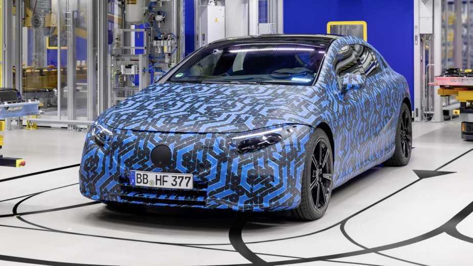 Electric Flood Apporte Six Nouveaux Modèles Mercedes Eq D'ici 2022
