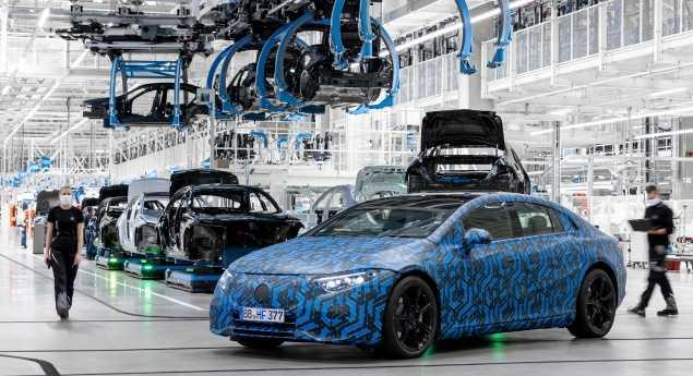 Mercedes Benz Prête à Produire Des Véhicules électriques