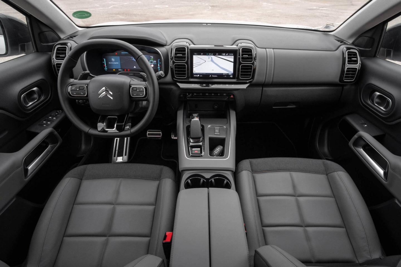 Intérieur hybride Citroen C5 Aircross