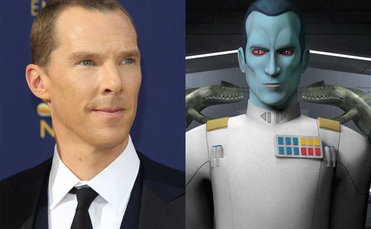 Les fans de `` The Mandalorian '' ont choisi Benedict Cumberbatch pour jouer à Thrawn