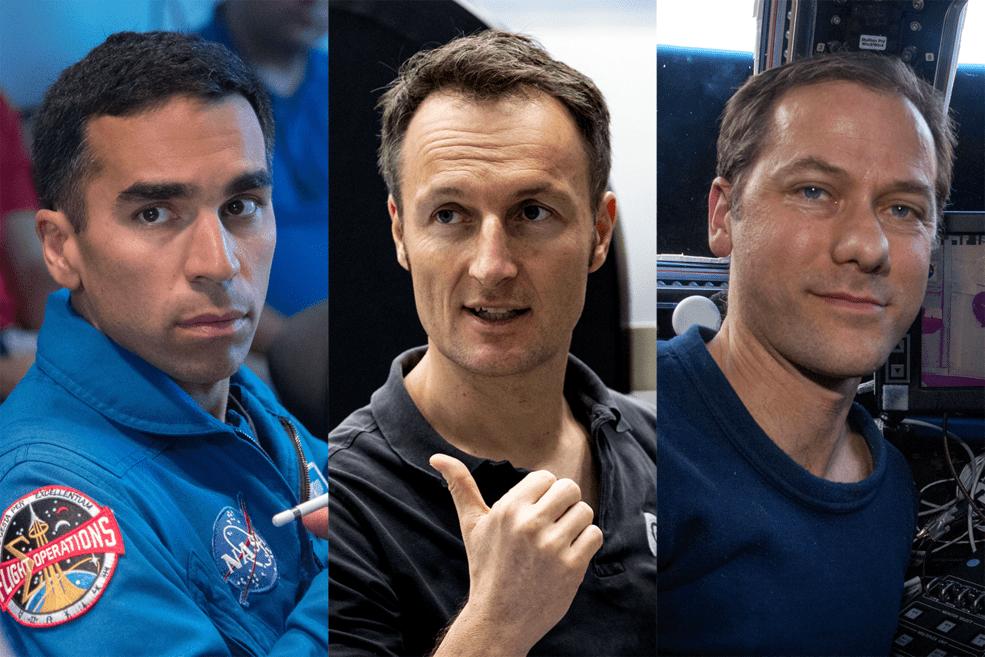 Ces 3 Astronautes Lanceront La Mission Crew 3 De Spacex Vers