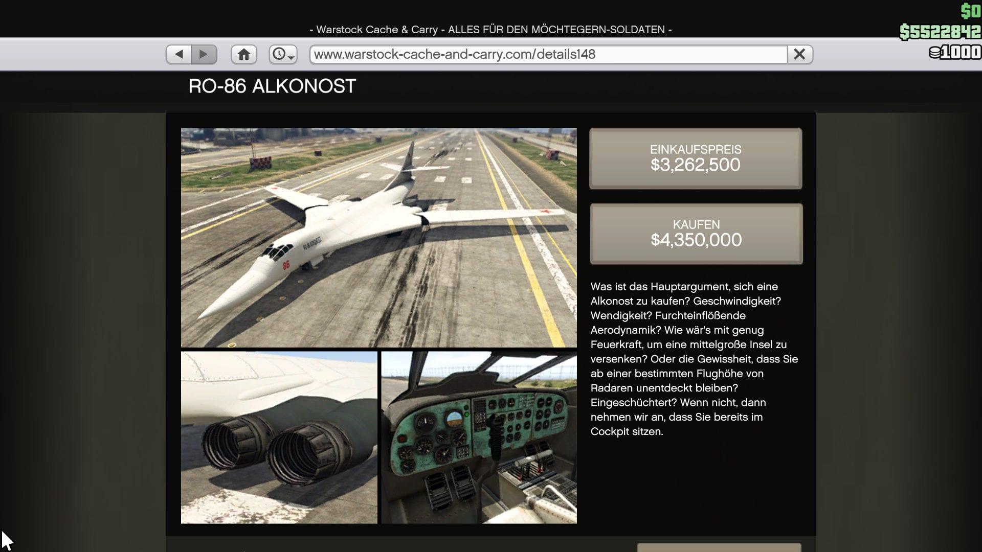 GTA Online - RO-86 Alkonost