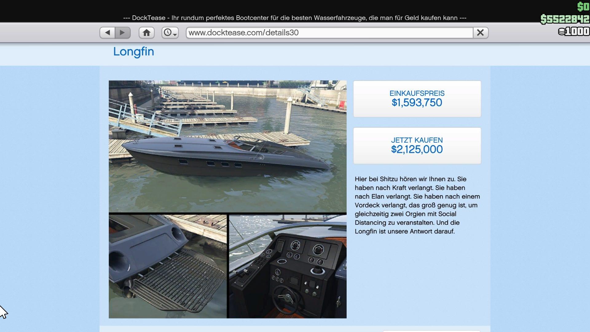 GTA Online - Longfin