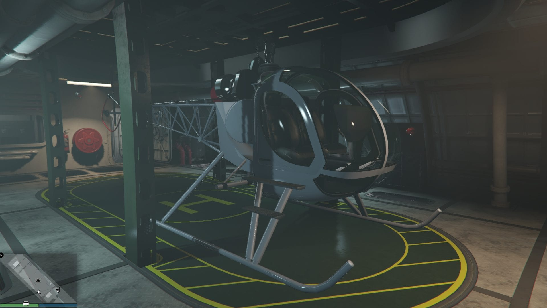 GTA Online - Hélicoptère Sparow