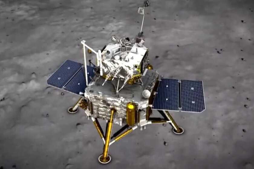 L'atterrisseur chinois Chang'e 5, après avoir collecté avec succès des échantillons de la Lune, a fini par geler sur la surface lunaire