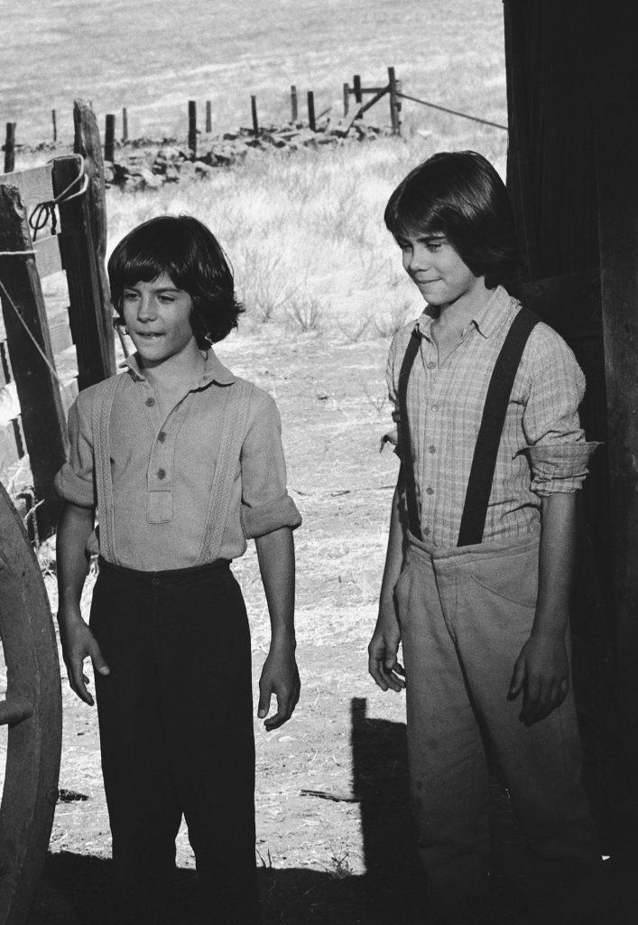 Matthew Laborteaux et Patrick Laborteaux de 'Little House on the Prairie'