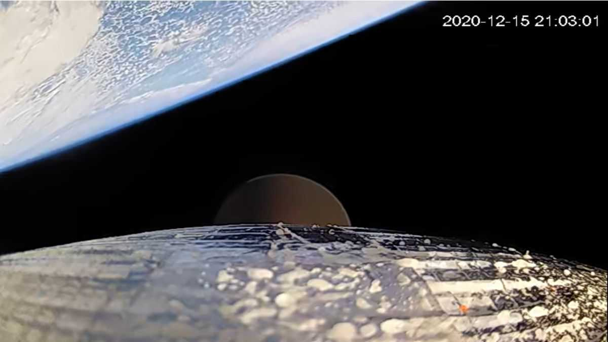 Astra Atteint L'espace Lors Du Deuxième Lancement D'essai Orbital