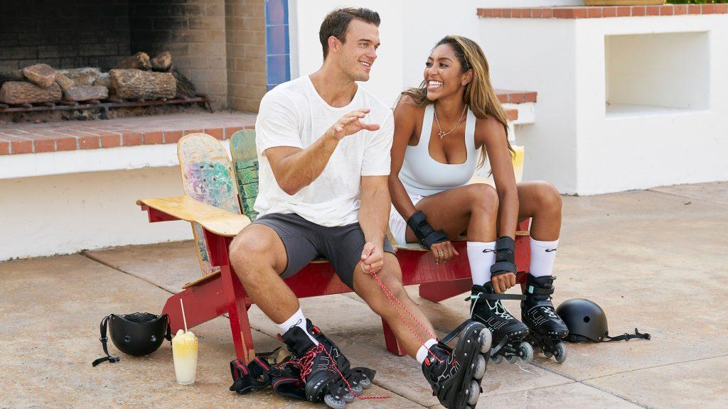 Ben Smith et Tayshia Adams sur 'The Bachelorette' 2020