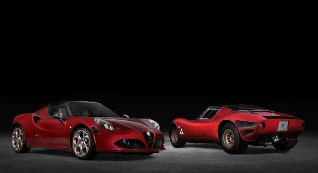 Alfa Romeo 4c Dit Au Revoir Au Nouveau Monde Avec