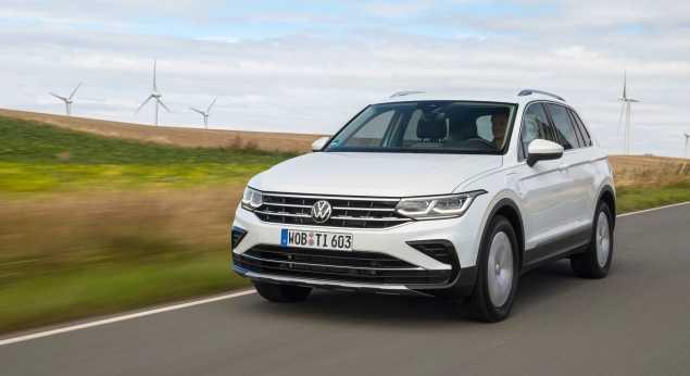Volkswagen A Commencé à Commercialiser Le Tiguan Ehybrid En Allemagne