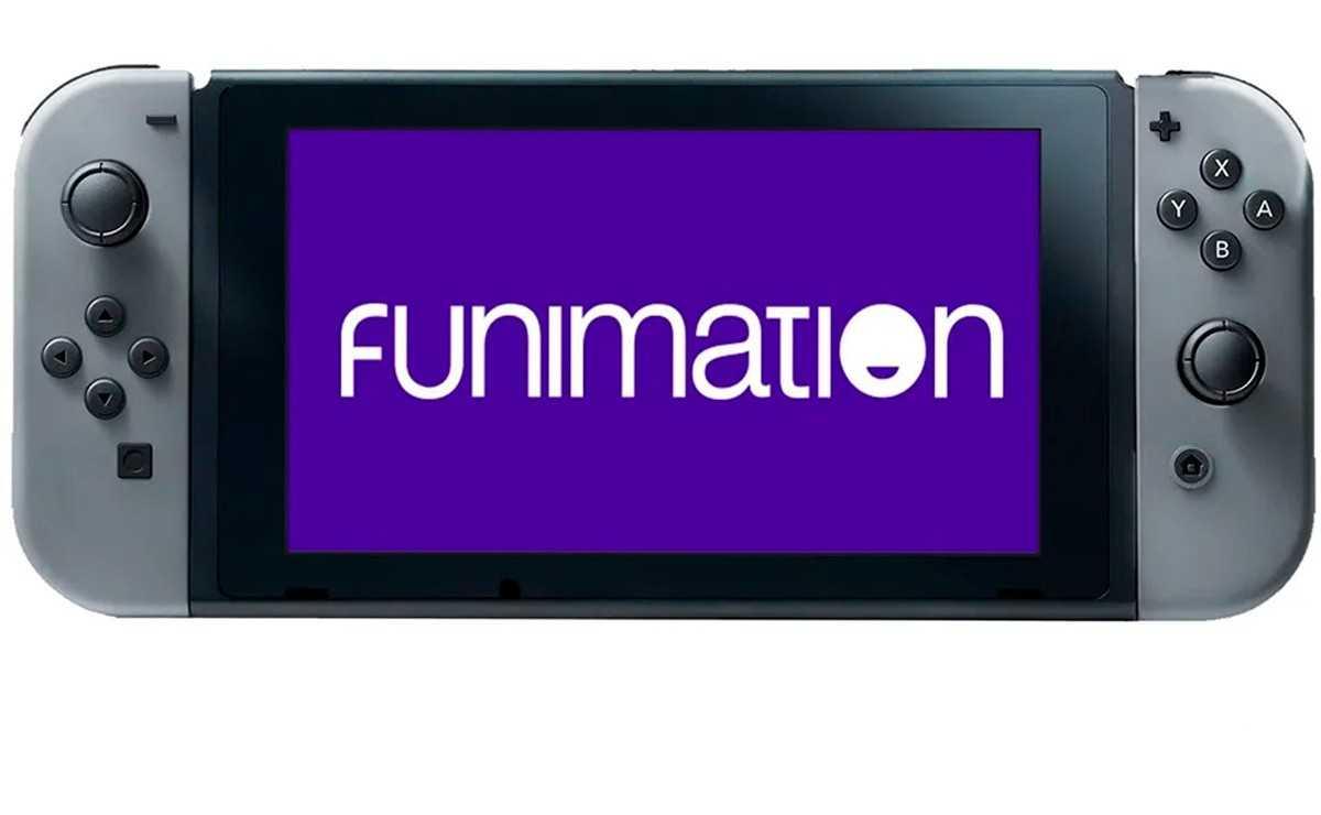 Funimation arrive sur Nintendo Switch en tant que seule application de streaming d'anime