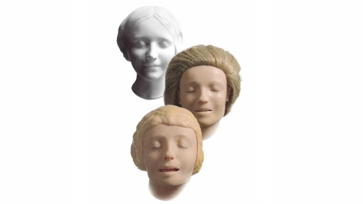 Comment Le `` Masque De Mort '' D'une Fille Des