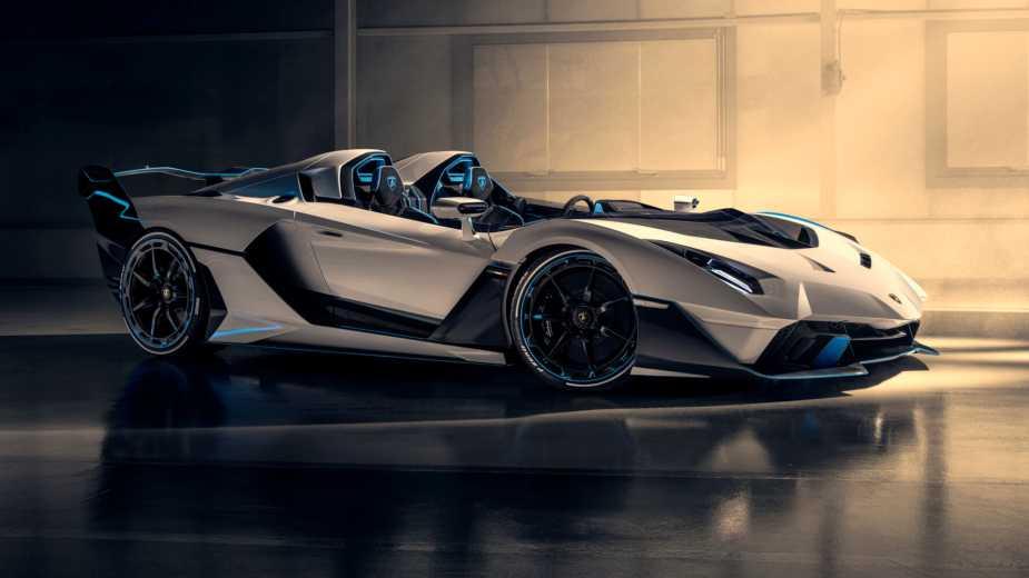 Lamborghini Sc20. Squadra Corse Crée Une «barchetta» Radicale Qui Peut