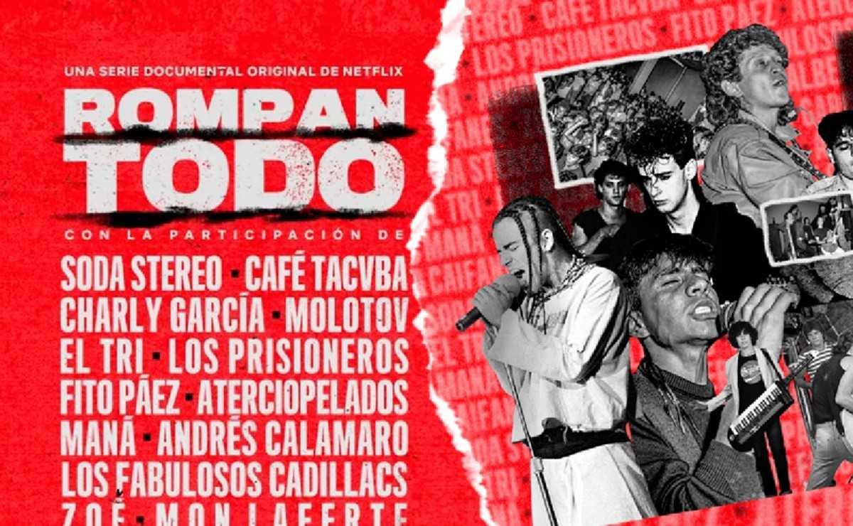 'Rompan Todo' fait ses débuts sur Netflix
