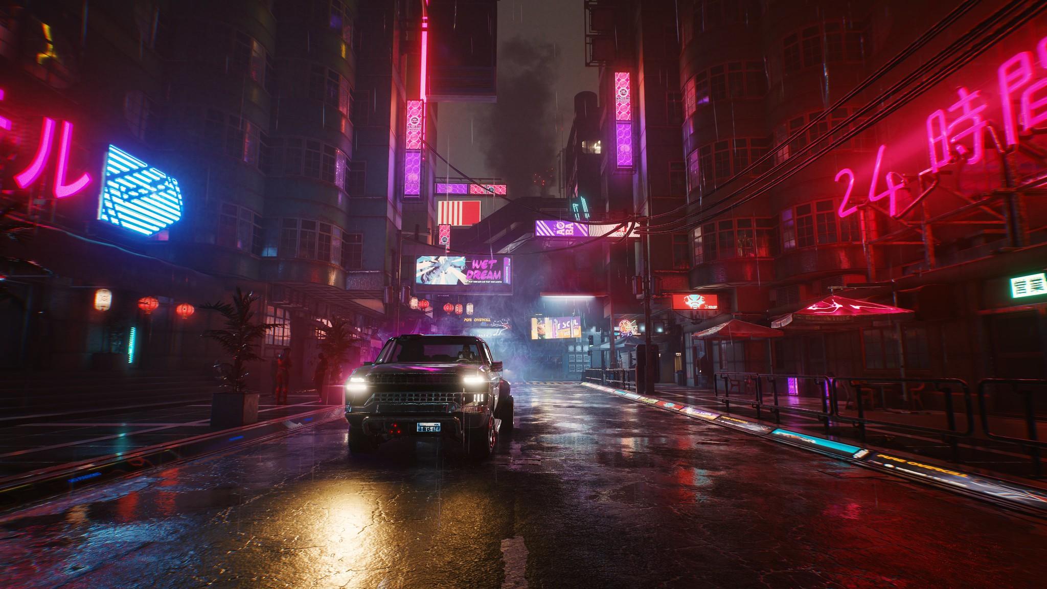 Monde du jeu Cyberpunk 2077