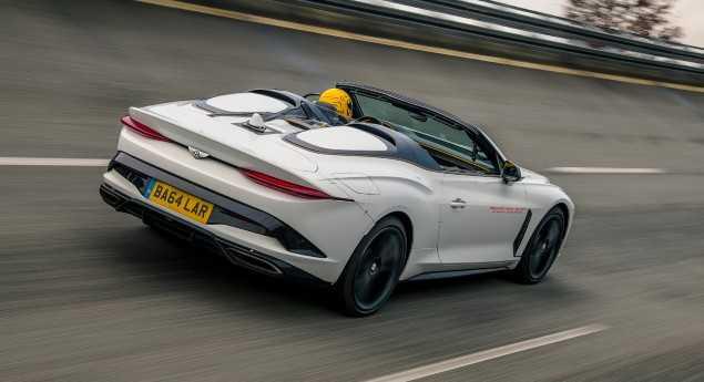L'une Des Neuf Nouvelles Fonctionnalités Pour 2021. Bentley Bacalar Commence