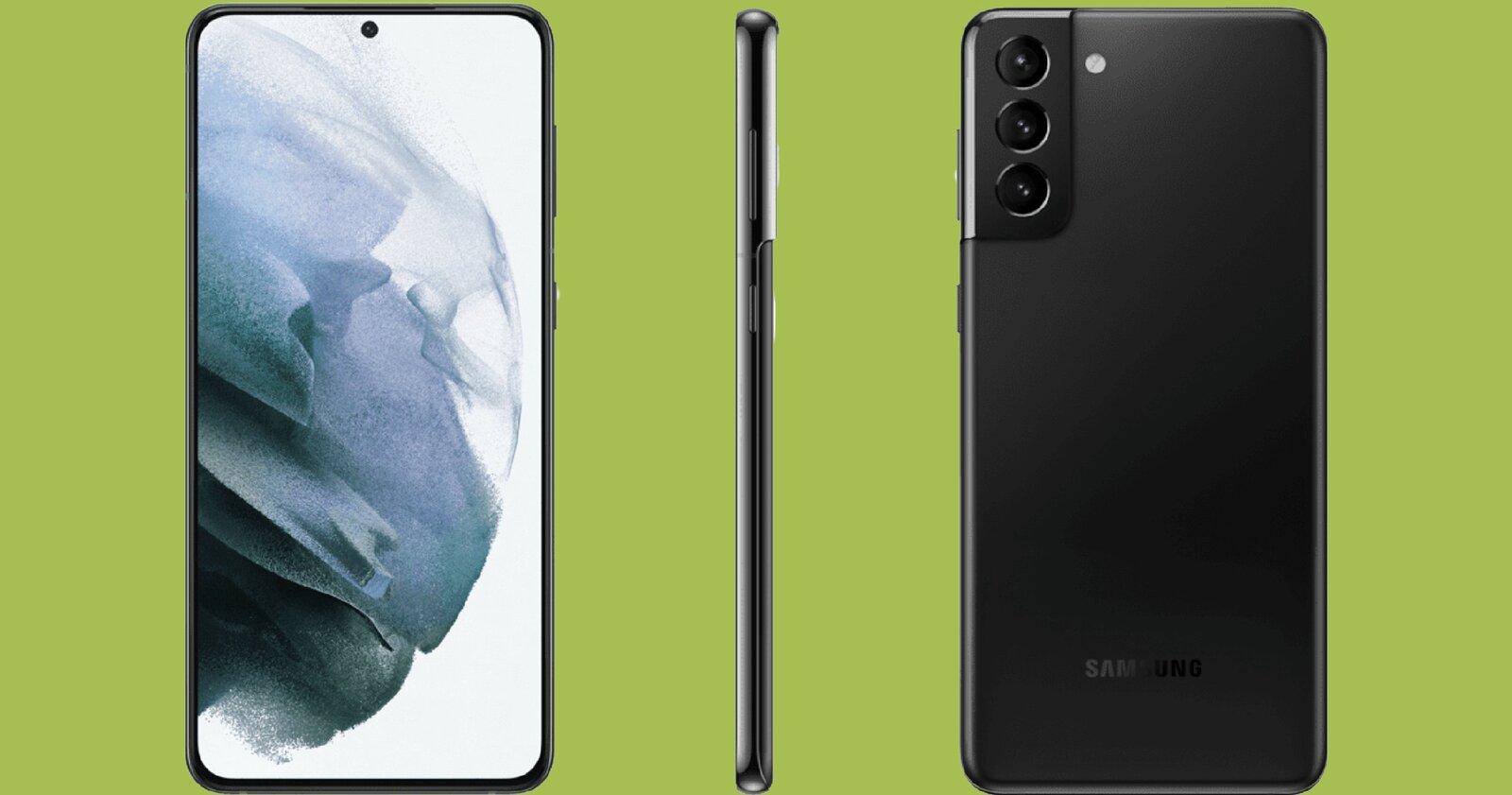 Samsung Galaxy S21 Plus noir