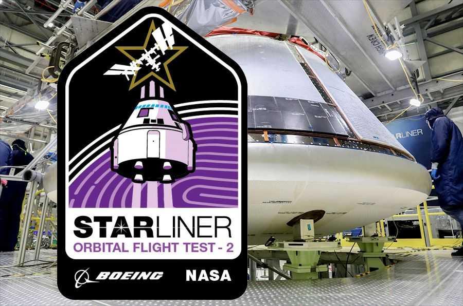 Boeing Révèle Un Patch De Mission Pour Le Deuxième Test