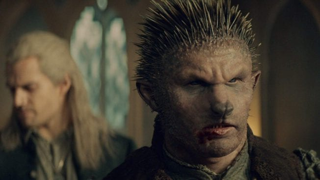 The Witcher Netflix Duny Hedgehog