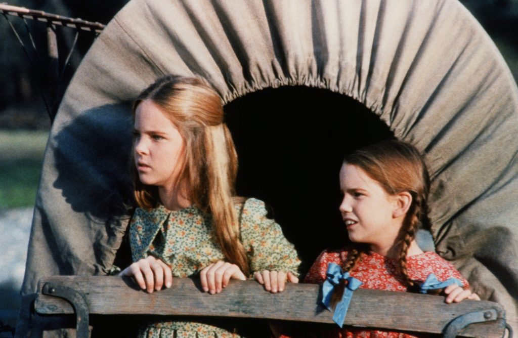 Melissa Sue Anderson, à gauche, et Melissa Gilbert de 'Little House on the Prairie'