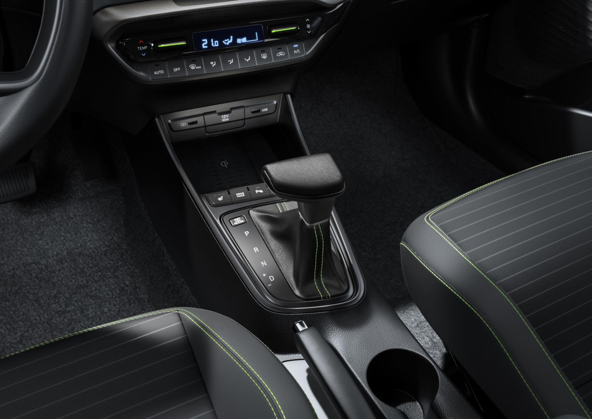 La transmission automatique est une option du moteur 1.0 T-GDi