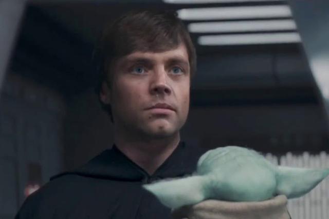 Luke Skywalker a promis de protéger et de former Grogu pour le transformer en Jedi (Photo: Disney +)