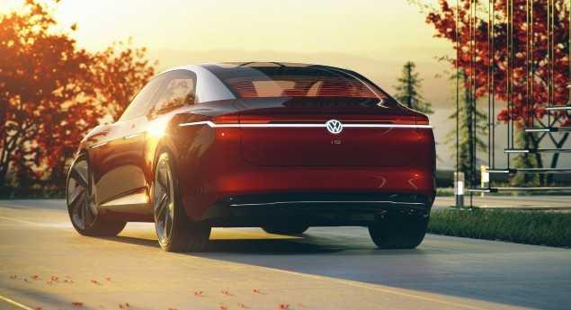 Annonce D'une Autonomie Record. Volkswagen Id Vizzion Est Le Prochain
