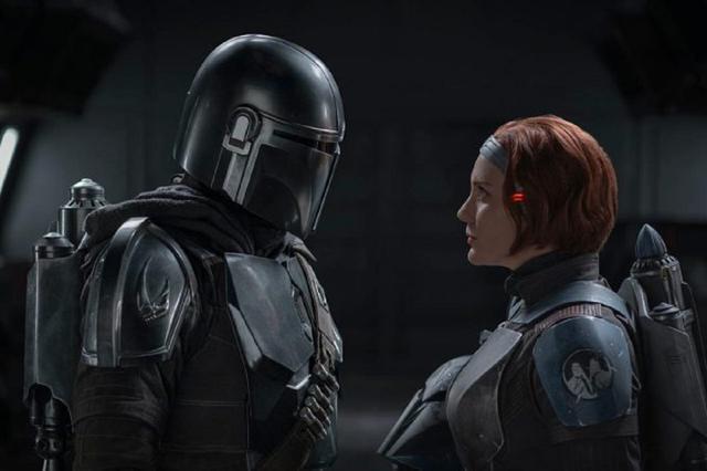 Bo-Katan combattra-t-il Mando pour le Darksaber?  (Photo: Disney +)