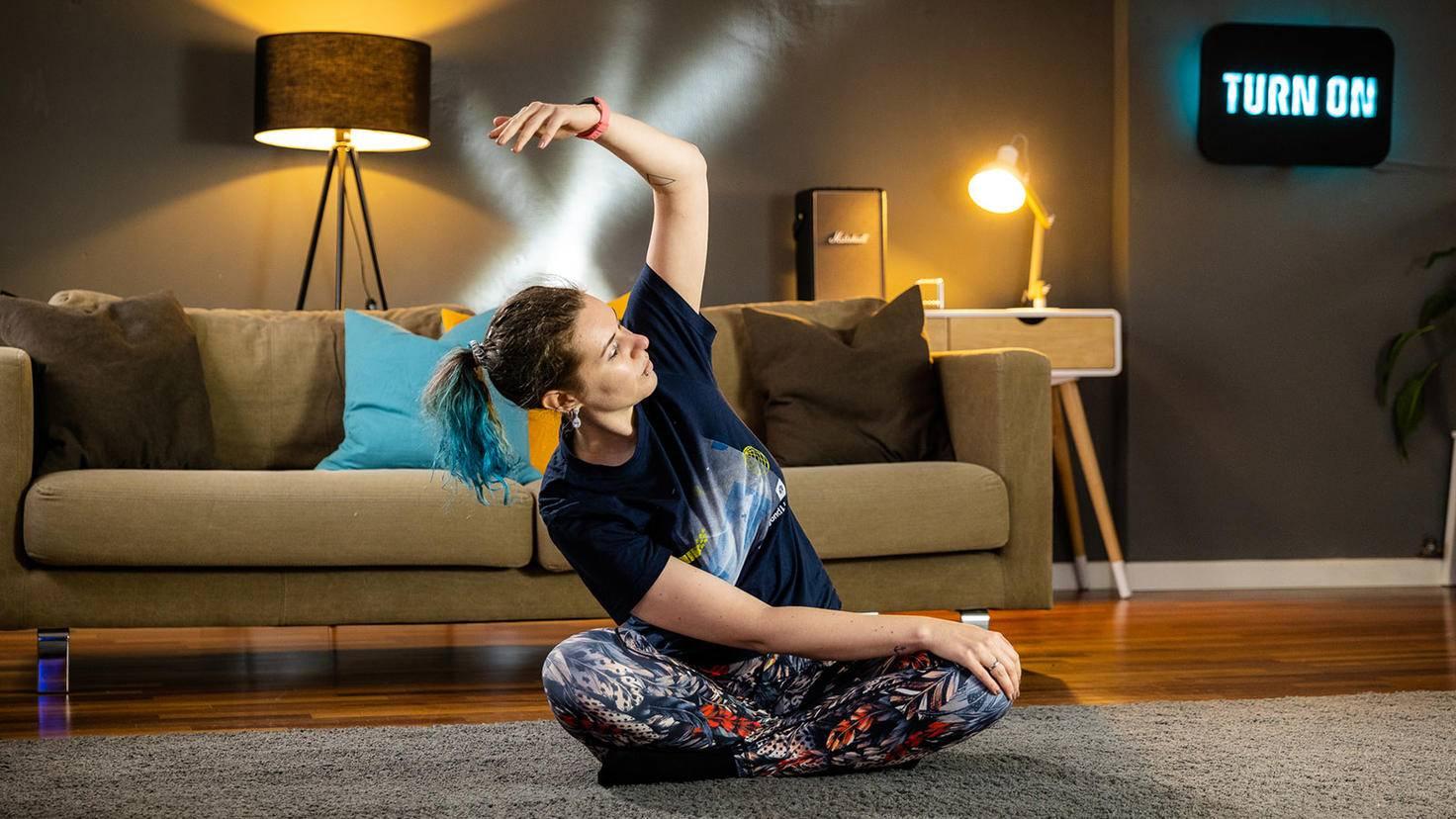 Yoga avec Fitbit Inspire 2