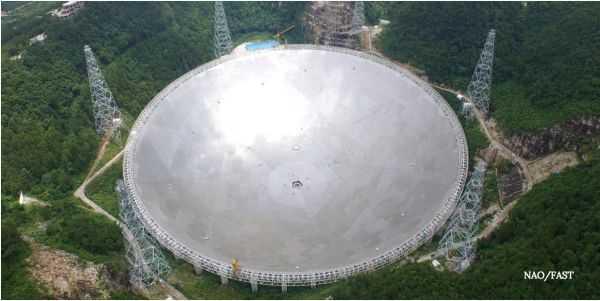 La Chine Ouvre Le Plus Grand Radiotélescope Du Monde Aux