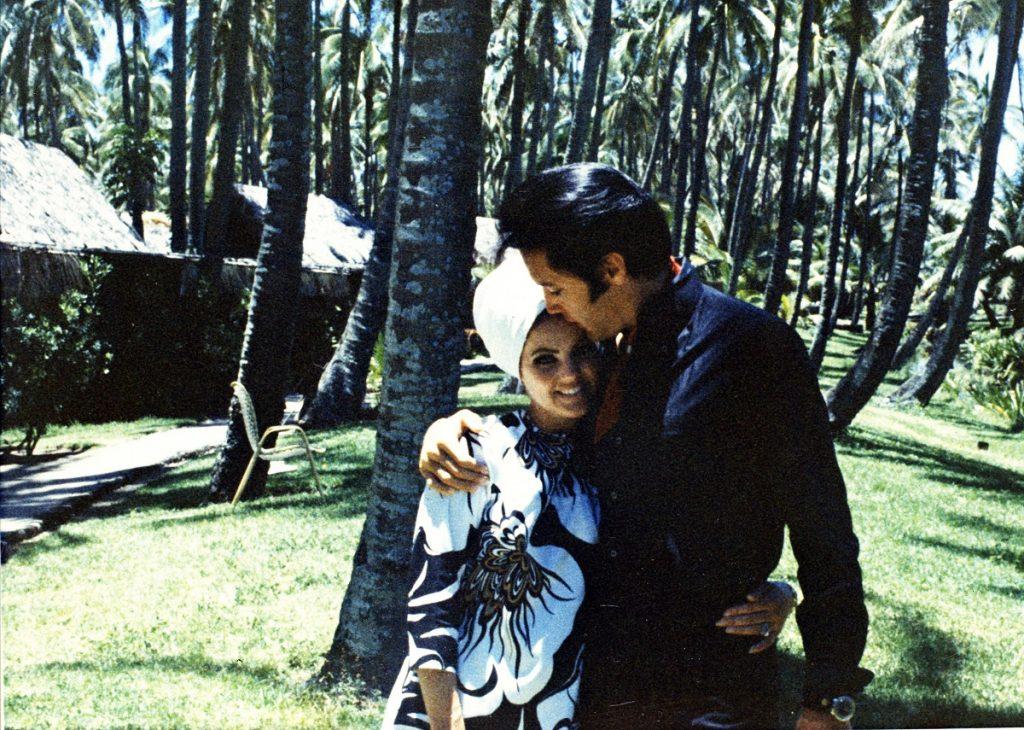 Priscilla et Elvis Presley
