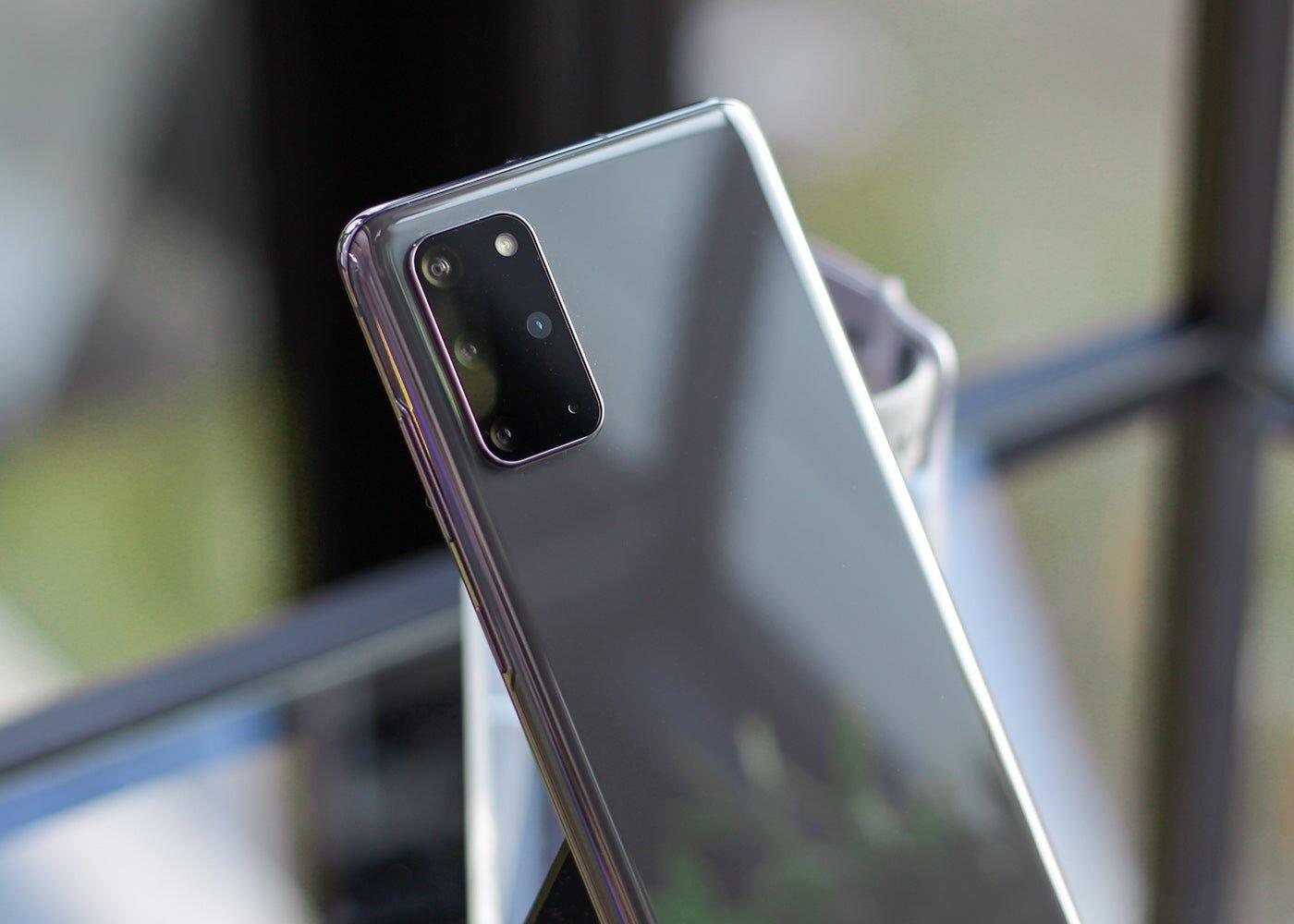 Samsung Galaxy S20 Plus, appareil photo