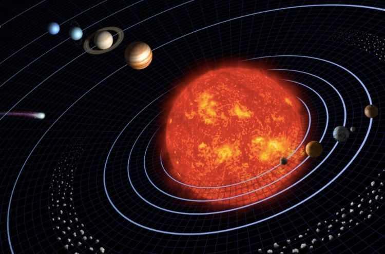 Comment Le Système Solaire S'est Il Formé?