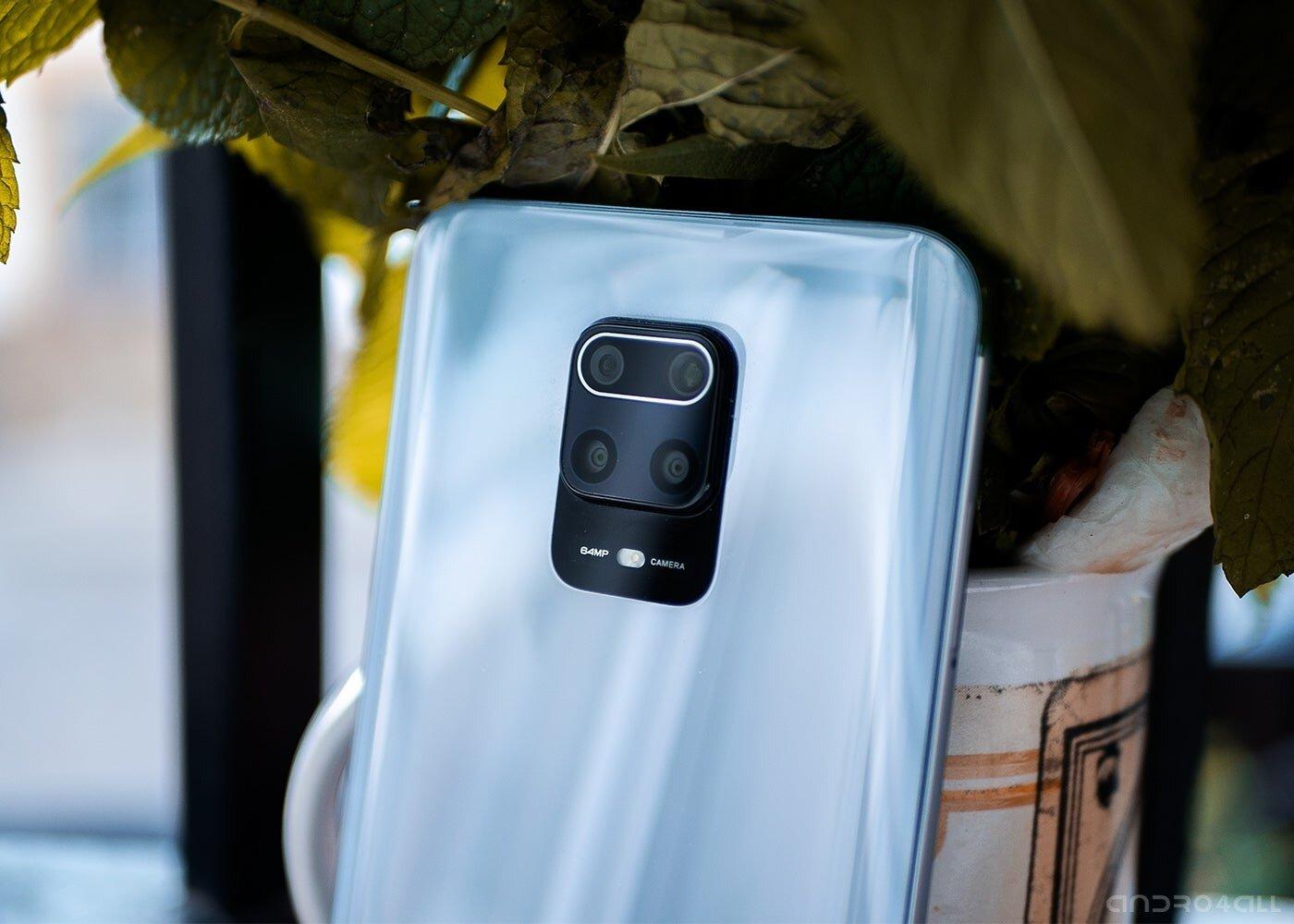 Caméras arrière du Redmi Note 9 Pro