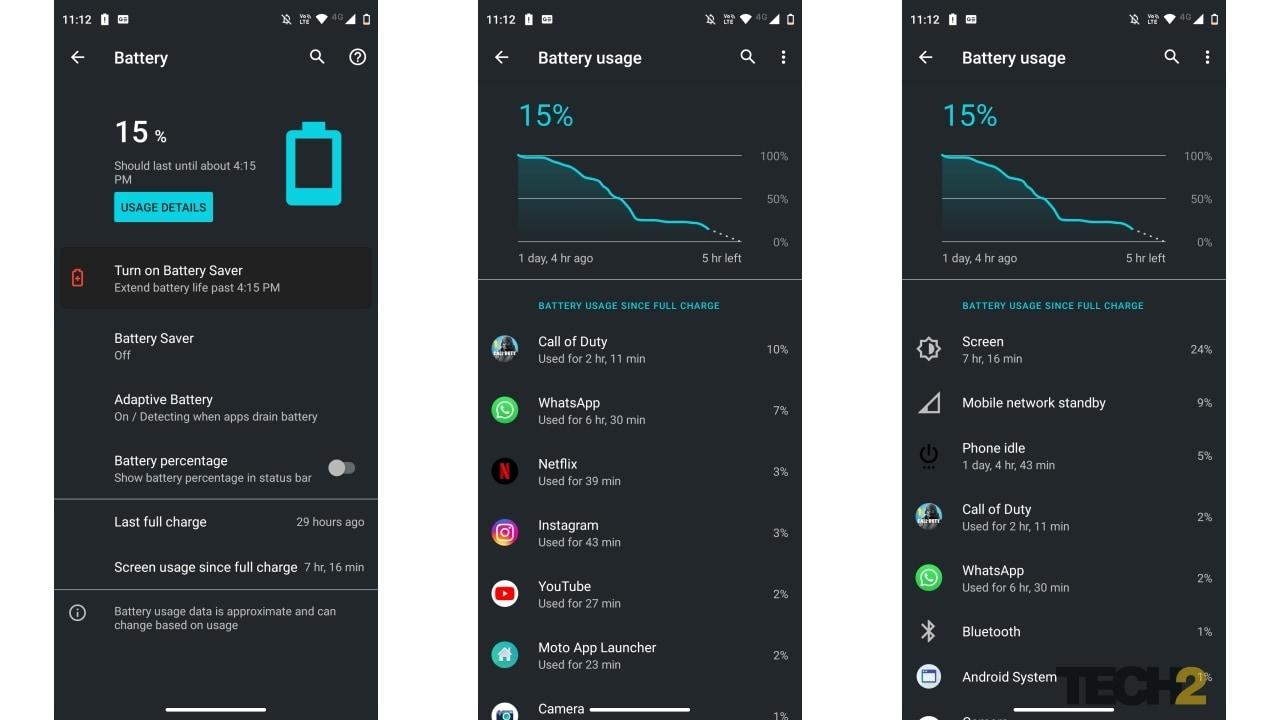 Motorola_Moto G 5G_review_ Autonomie de la batterie