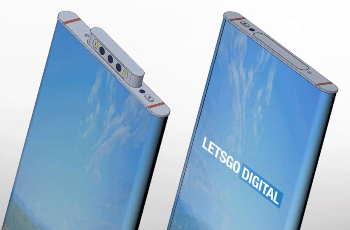 Écran incurvé mobile breveté Xiaomi et caméra pop-up