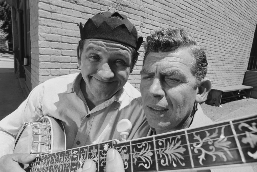 George Lindsey et Andy Griffith