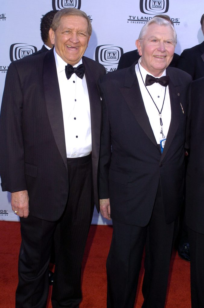 George Lindsey et Andy Griffith en 2004