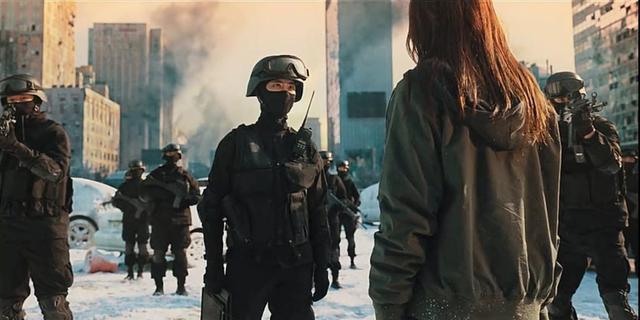 En fin de compte, l'armée a réussi à `` contrôler '' la situation (Photo: Netflix)