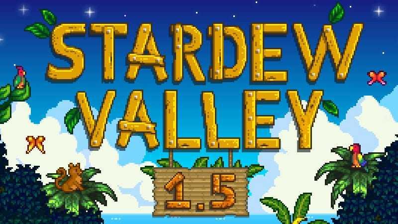 La Mise à Jour 1.5 De Stardew Valley Est Maintenant