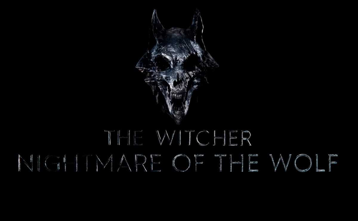 """""""The Witcher: Nightmare of the Wolf"""" lance le logo officiel"""