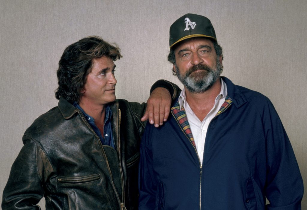 Michael Landon et Victor French