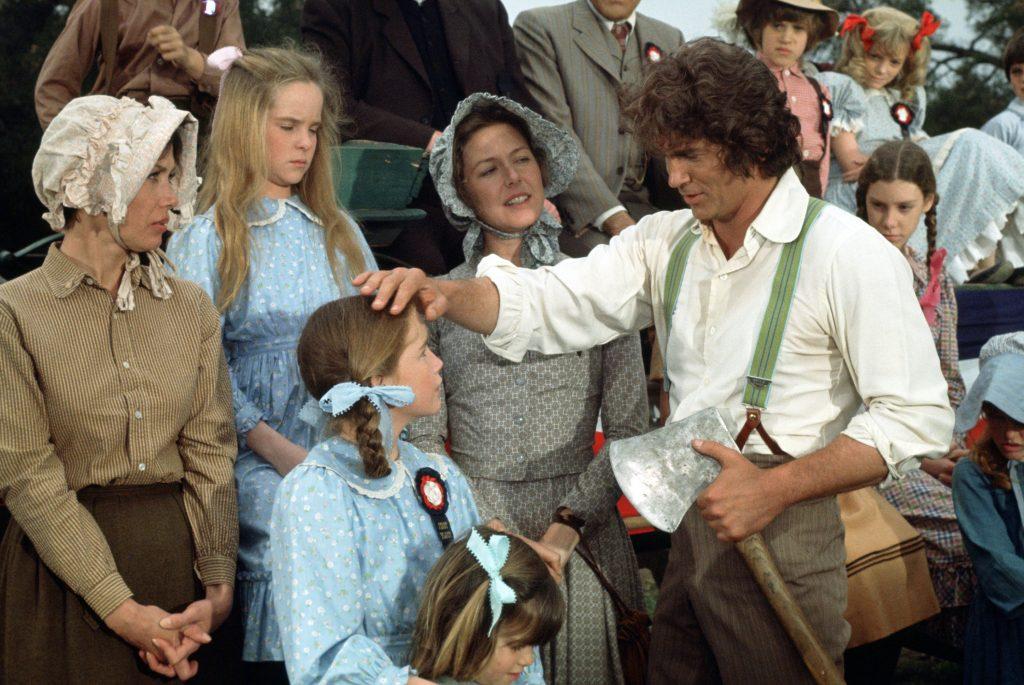 Une scène de 'Little House on the Prairie'