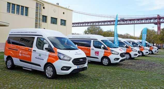 Ford Et Hermotor Fournissent 15 Véhicules à La «flotte Solidaire»