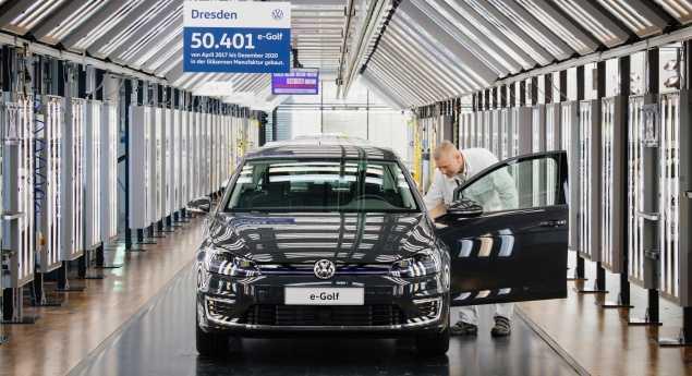 Au Revoir, E Golf. Volkswagen Arrête La Production Pour Fabriquer L'id.3
