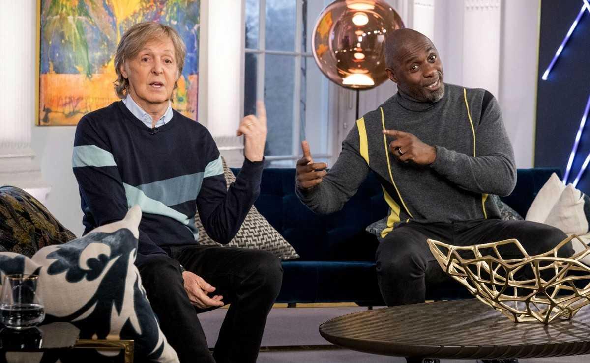 Paul McCartney et Idris Elba vendent une guitare signée pour une association caritative