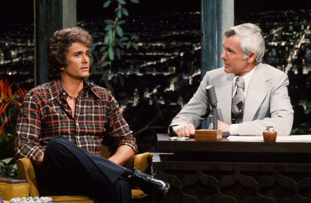 Michael Landon sur 'The Tonight Show Starring Johnny Carson' en 1975
