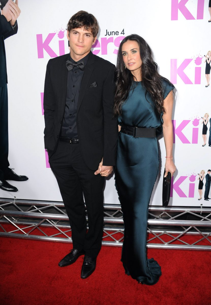 Ashton Kutcher et Demi Moore arrivent à la première de Lionsgate's 'Killers' tenue au cinéma ArcLight