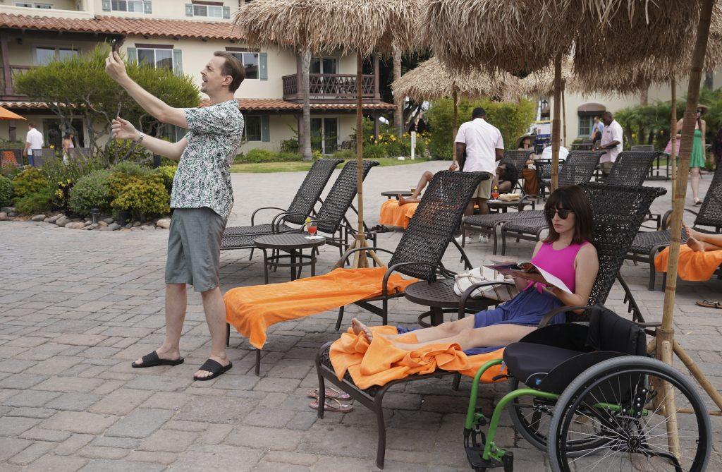 McGee et Delilah sont enfin en vacances.  |  Sonja Flemming / CBS via Getty Images